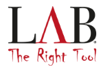 LAB The Right Tool Logo